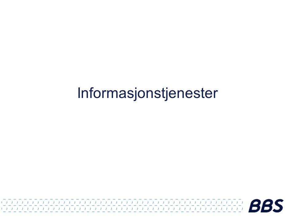 Informasjonstjenester
