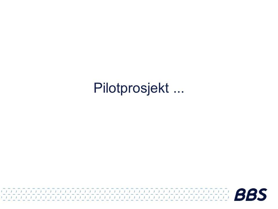 Pilotprosjekt...