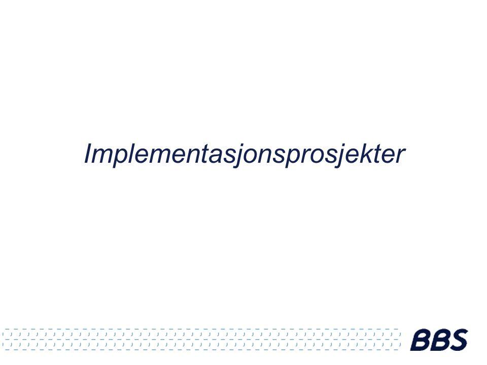 Implementasjonsprosjekter