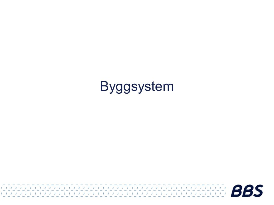 Byggsystem
