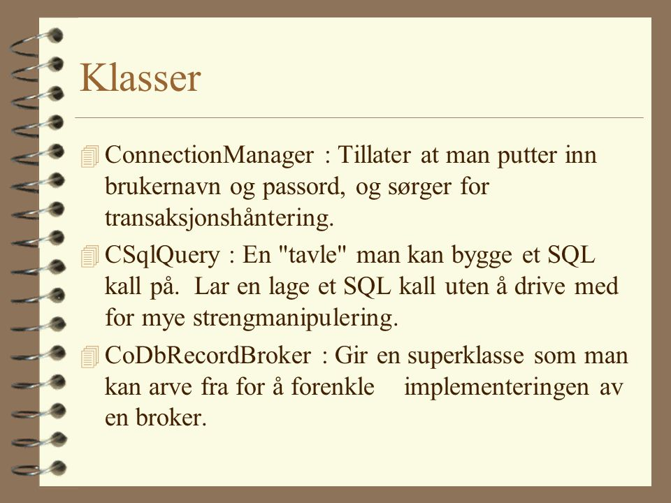 ConnectionManager