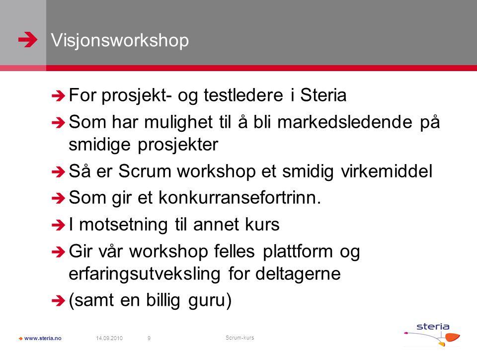   www.steria.no Svar 1.Hvor høy er Galdhøpiggen.