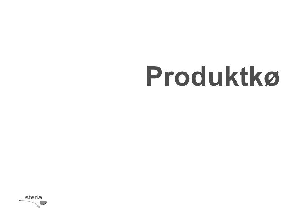 Produktkø