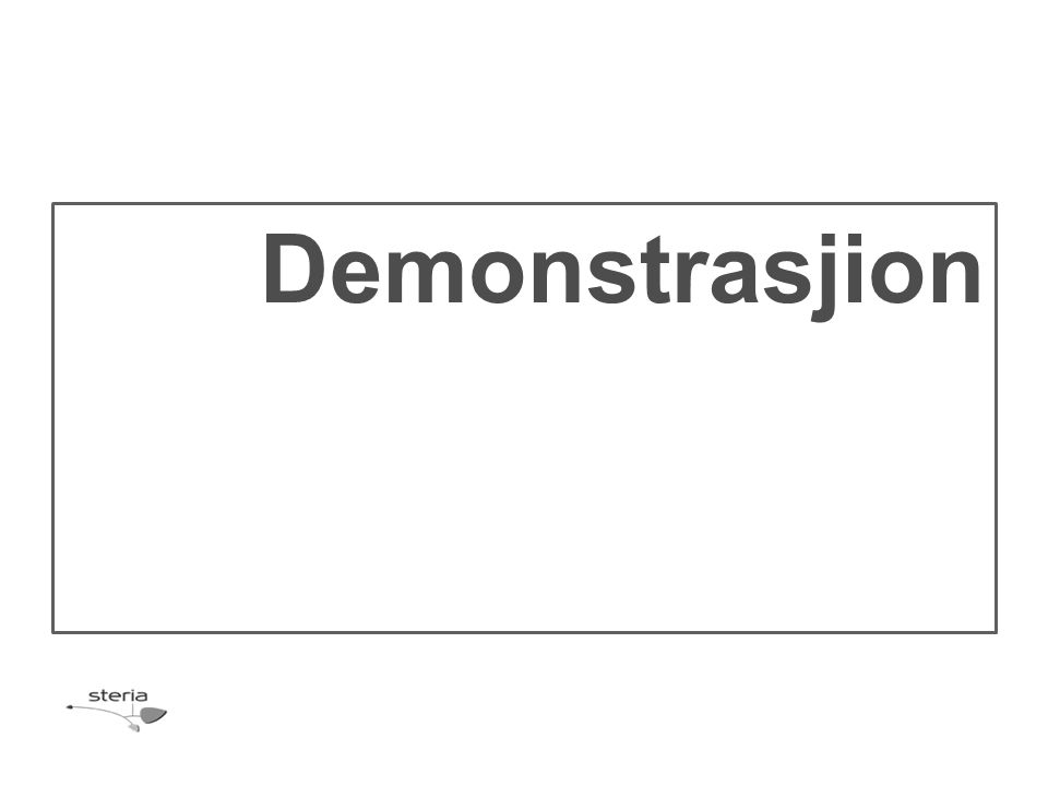 Demonstrasjion