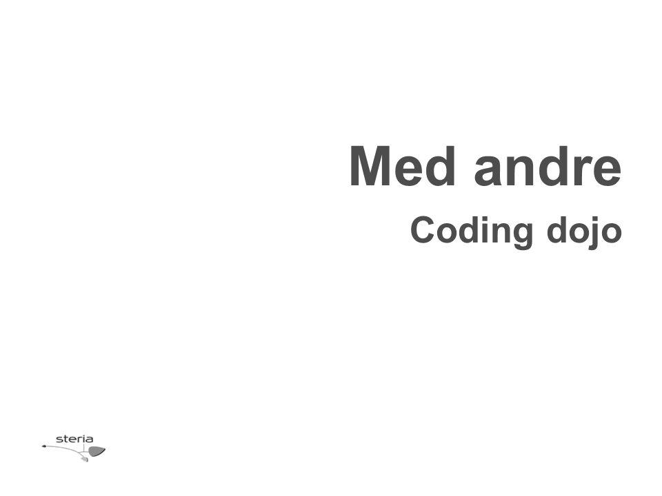 Med andre Coding dojo