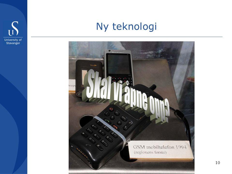 10 Ny teknologi