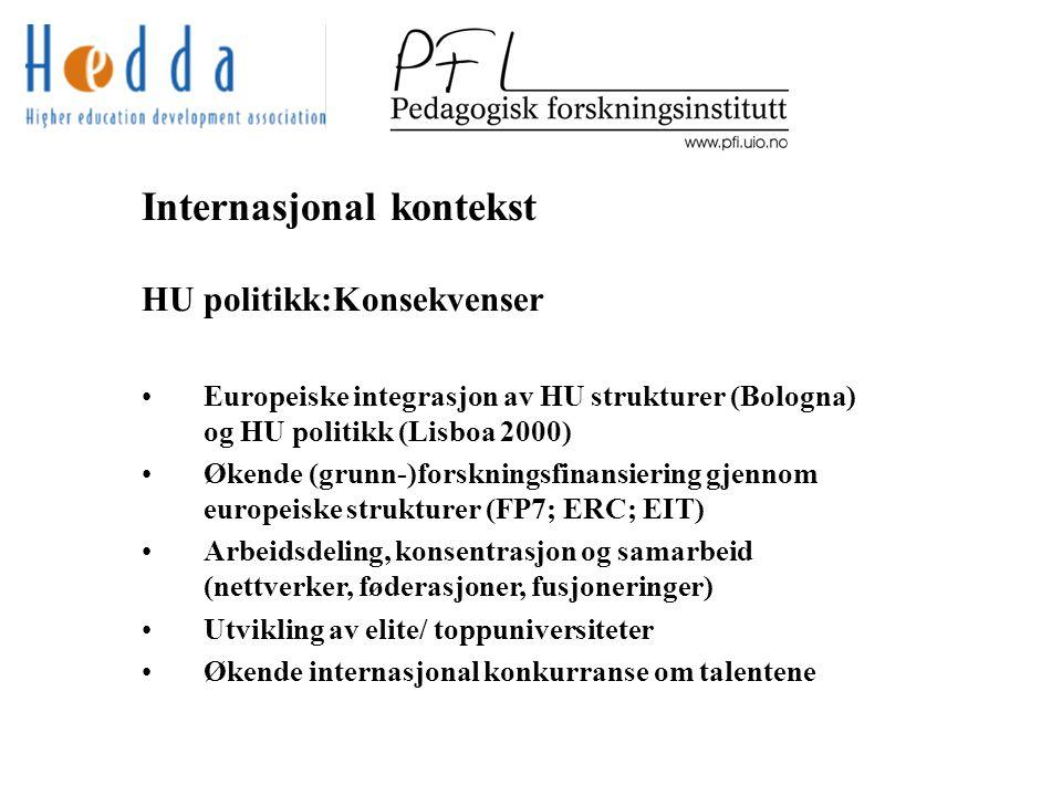 Europeisk forskningsfinansiering ERC, første runde 9100 søknader Max.