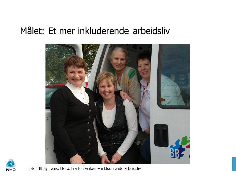 Målet: Et mer inkluderende arbeidsliv Foto: BB Systems, Florø.