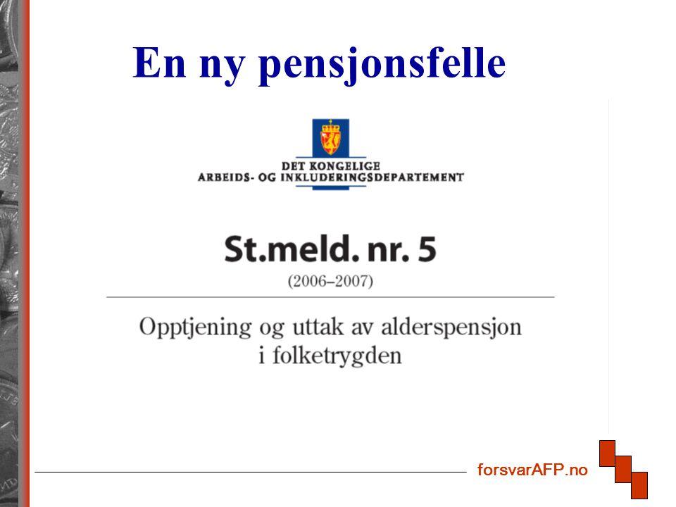 forsvarAFP.no En ny pensjonsfelle