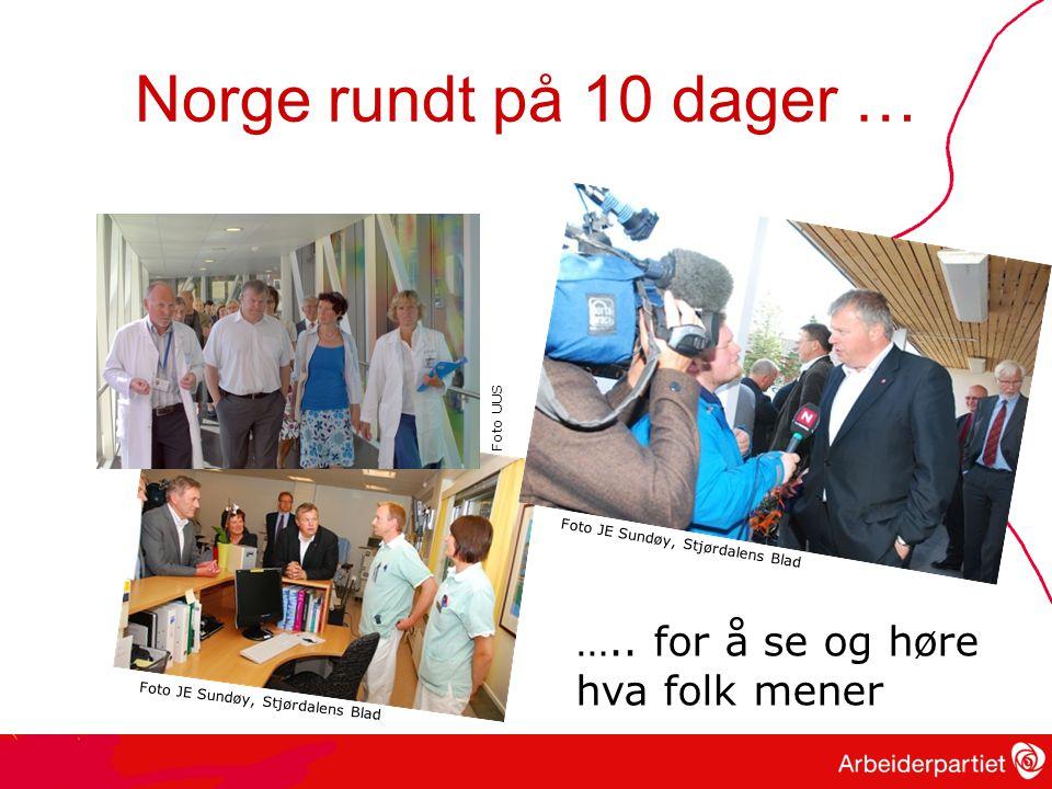 Norge rundt på 10 dager … …..