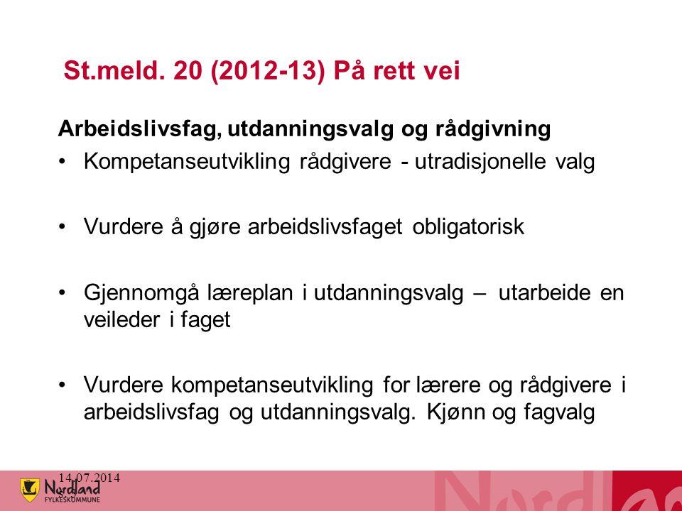14.07.2014 s. 3 St.meld.