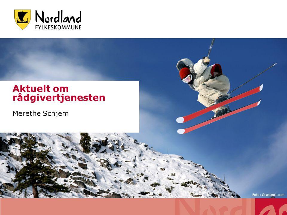 Etter- og videreutdanning Tilbud i Nordland - HINE: rådgivning 1 og rådgivning 2) Deltakere fra både grunnskole og vgs Antall deltakere nasjonal ordning Kompetanse for kvalitet .