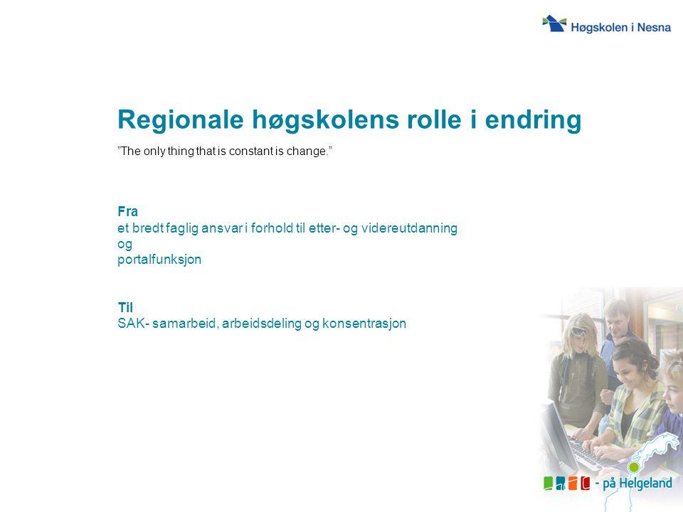Helgelands utfordringer Felles behov.Need for speed.