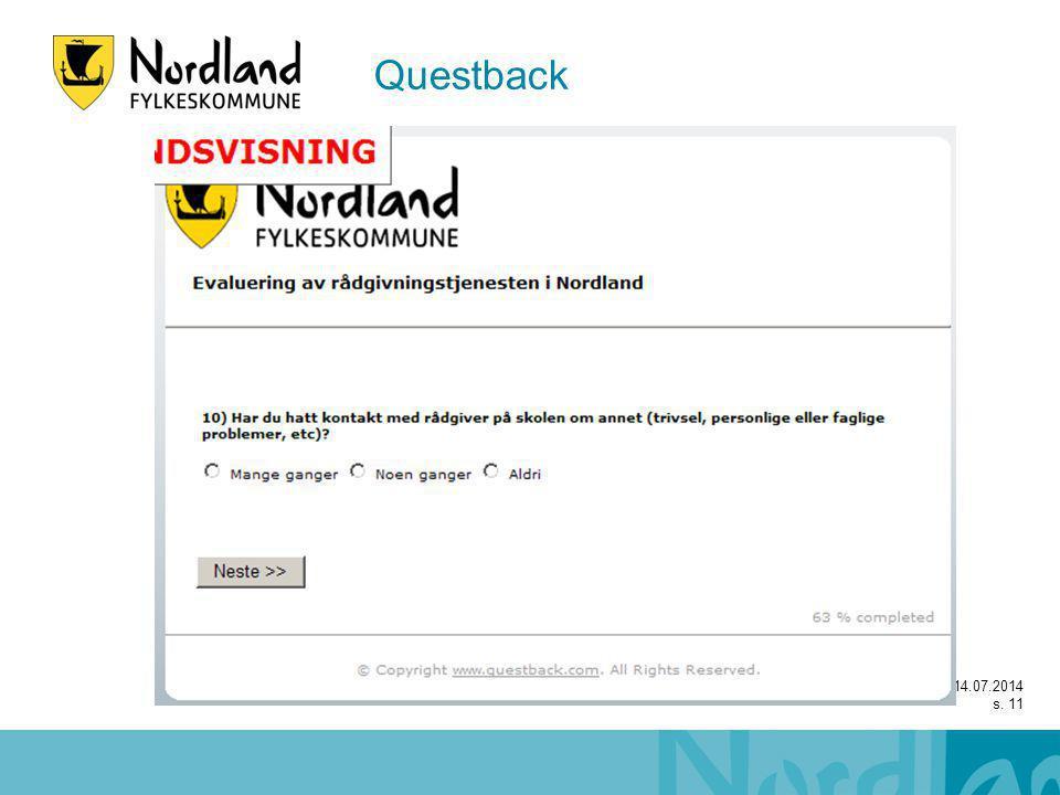 14.07.2014 s. 11 Questback