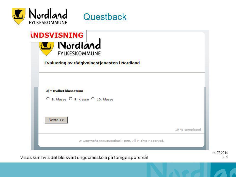 14.07.2014 s. 15 Questback