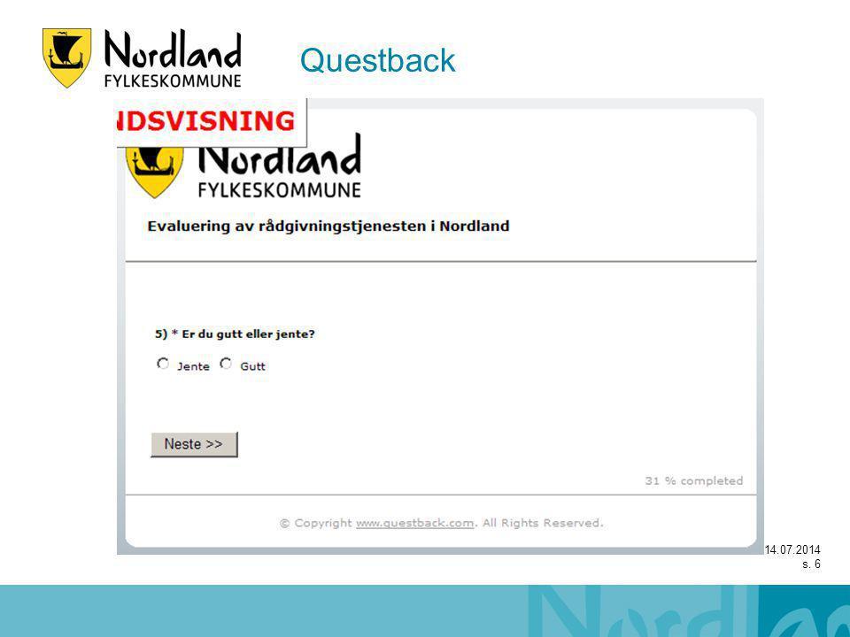 14.07.2014 s. 6 Questback