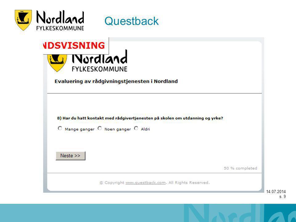 14.07.2014 s. 9 Questback