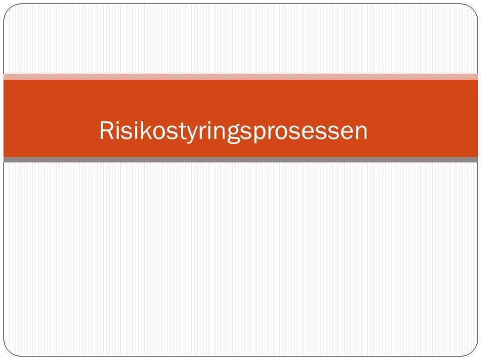Risiko: Uttrykk for kombinasjonen av sannsynlighet for og konsekvensen av en uønsket hendelse .
