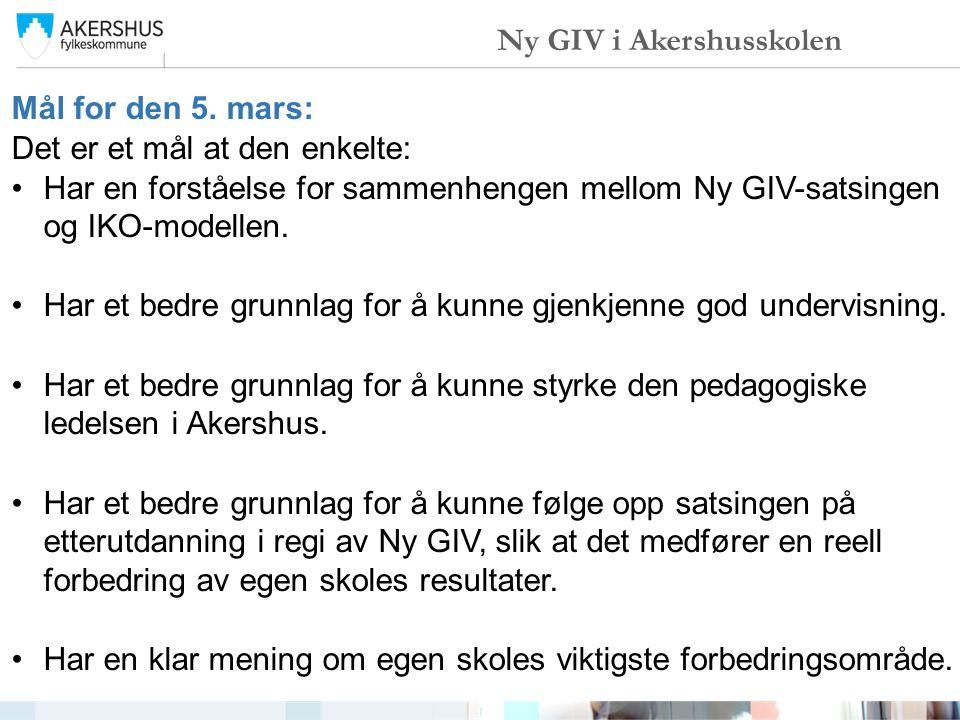 TidInnhold 09.30 – 10.00IKO-modellen og Ny GIV.10.00 – 10.20 Spørsmålsrunde.