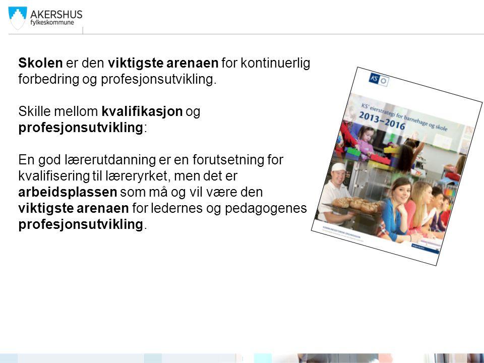 Den gode Akershusskolen Mellomlederopplæring i pedagogisk ledelse Del I Kjennetegn på kvalitet innen tre områder Del II Pedagogisk ledelse Def.