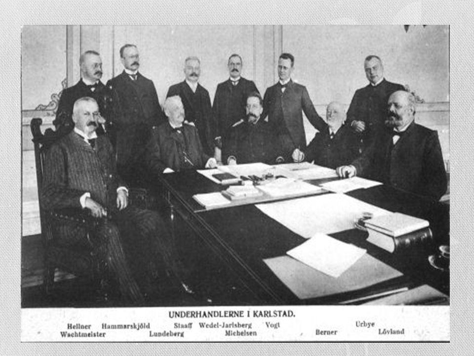 Kongen gikk i mot, og Stortinget avsatt kongen 7. juni 1905 som norsk konge og unionen var brutt Folkeavstemning avgjorde med klart flertall at unions