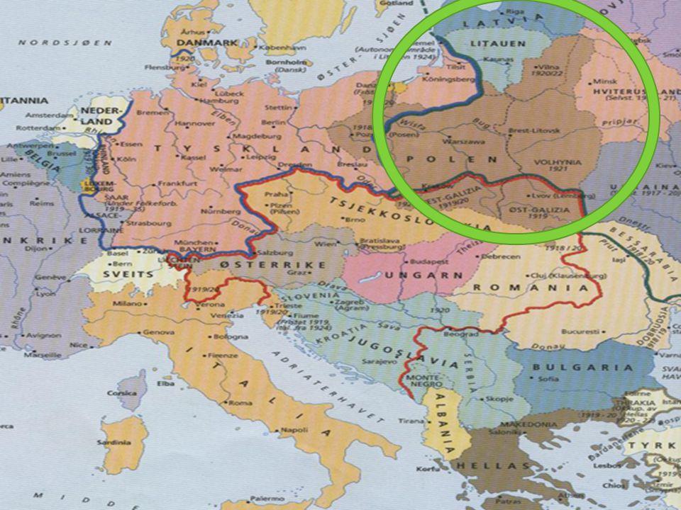 Russland blir trukket inn  Etter at Tyskland hadde angrep Frankriket, stod Russland for tur  De russiske styrkene klarte seg dårlig, med mange nederlag og stor lidelse  I 1918 brøt den russiske revolusjonen ut, og Russland trakk seg gradvis ut av krigen  Russland måtte gi avkall på områdene Estland, Litauen, Latvia og deler av Polen til Tyskland