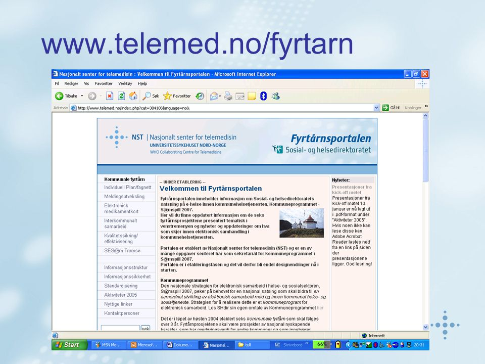 www.telemed.no/fyrtarn