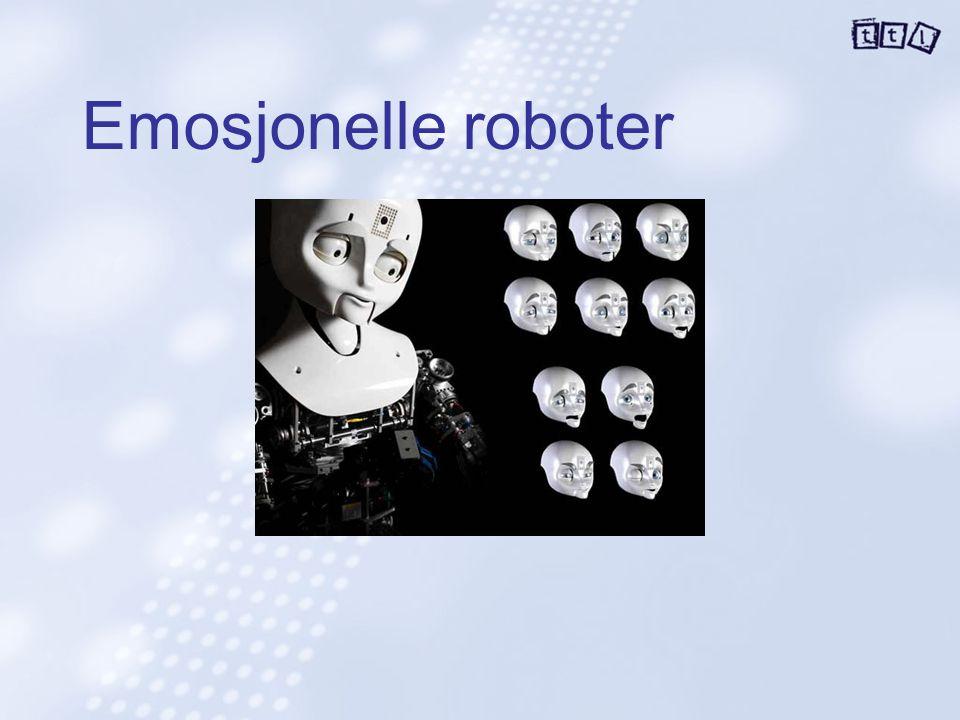 Emosjonelle roboter