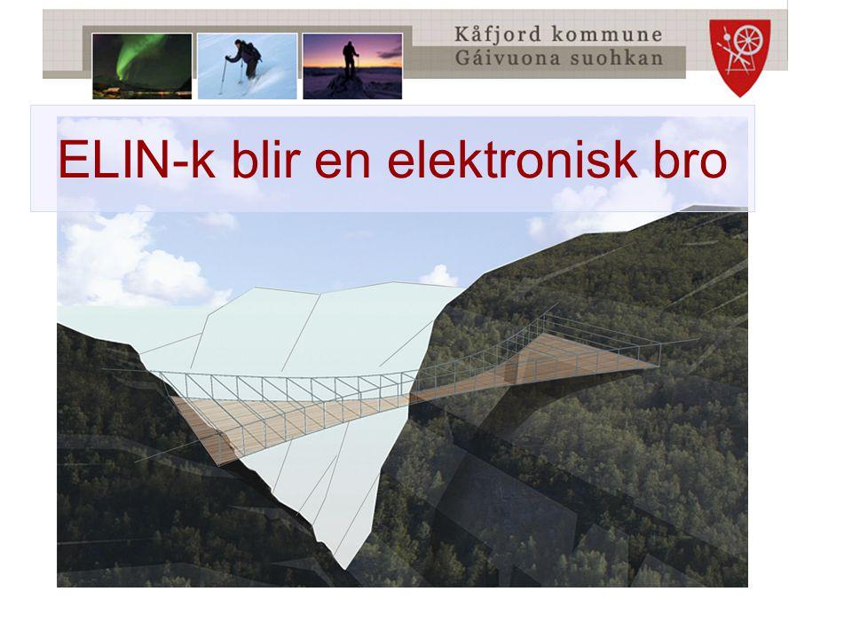 ELIN-k blir en elektronisk bro