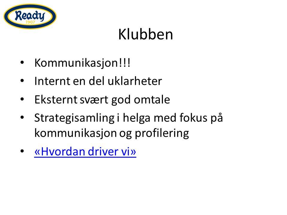 Klubben Kommunikasjon!!.