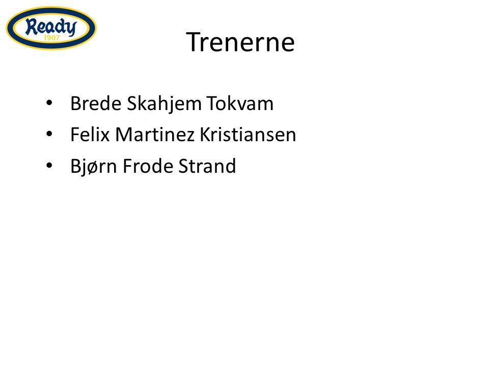 Trenerne Brede Skahjem Tokvam Felix Martinez Kristiansen Bjørn Frode Strand