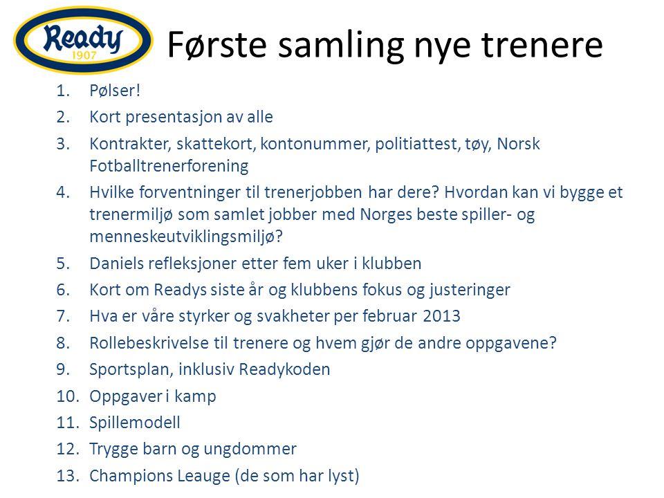 Presentasjon av dere Daniel Elvegård (25): G97-2 Mats Gran (32): G98-2 Robert Erlandsen (22): G99-3 Christoffer Kydland (23): G00-2/3 Johan Olav Brevik (20): J01