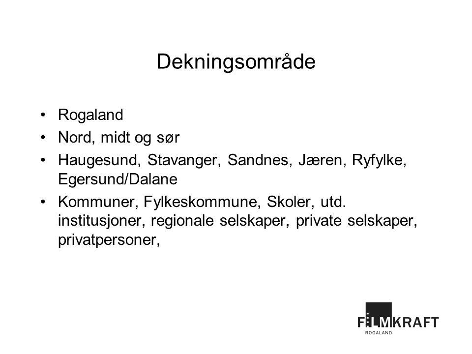 Dekningsområde Rogaland Nord, midt og sør Haugesund, Stavanger, Sandnes, Jæren, Ryfylke, Egersund/Dalane Kommuner, Fylkeskommune, Skoler, utd.