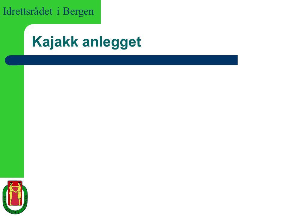 Idrettsrådet i Bergen Kajakk anlegget