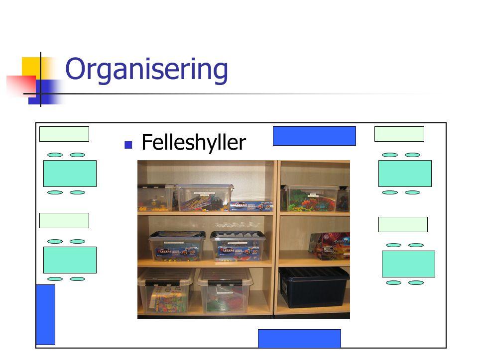 Organisering Felleshyller