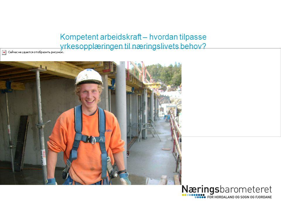 Kompetent arbeidskraft – hvordan tilpasse yrkesopplæringen til næringslivets behov