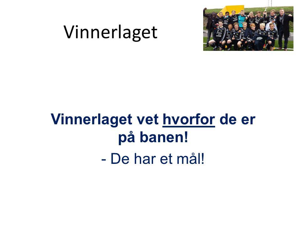 Felles 2013 - Visjon, - Generasjon, - Misjon Vinnerlaget Målet: Tro & Tilhøre, Tilbe & Tjene