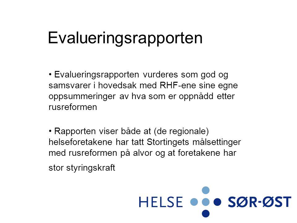 Særlige utfordringer mht Oslo Oslo kommune hadde et godt utbygd og differensiert behandlingstilbud uten skille mellom nivåene med store ressurser i Rusmiddeletaten til koordinering og oppfølging Det var utfordringer mht.
