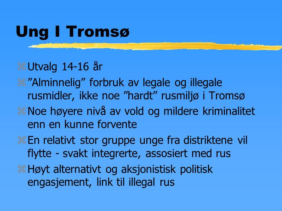 Norske rusmidler zAlkohol, sigaretter zCannabis zAmfetamin zMDMA zHeroin z(Samt - sniffing, kokain, legemidler, anabole stereoider)