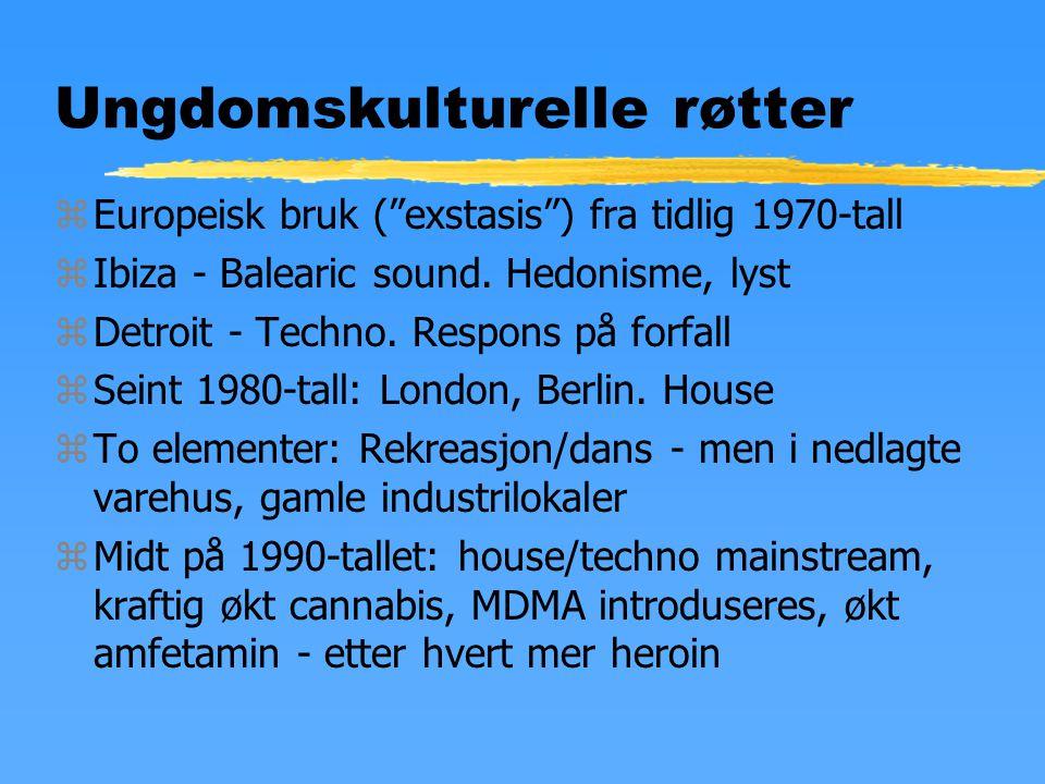 Narkotika i Norge, 2002 zHasj sprer seg - også i rurale strøk zMDMA - fortsatt mest i urbane områder.