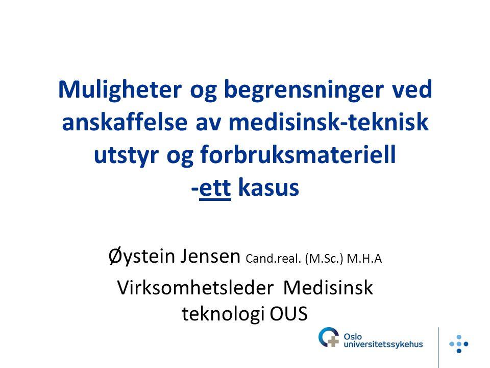 Noen aktører jeg kommenterer HSØ RHF HINAS Sykehuspartner (SP) SMETT OUS