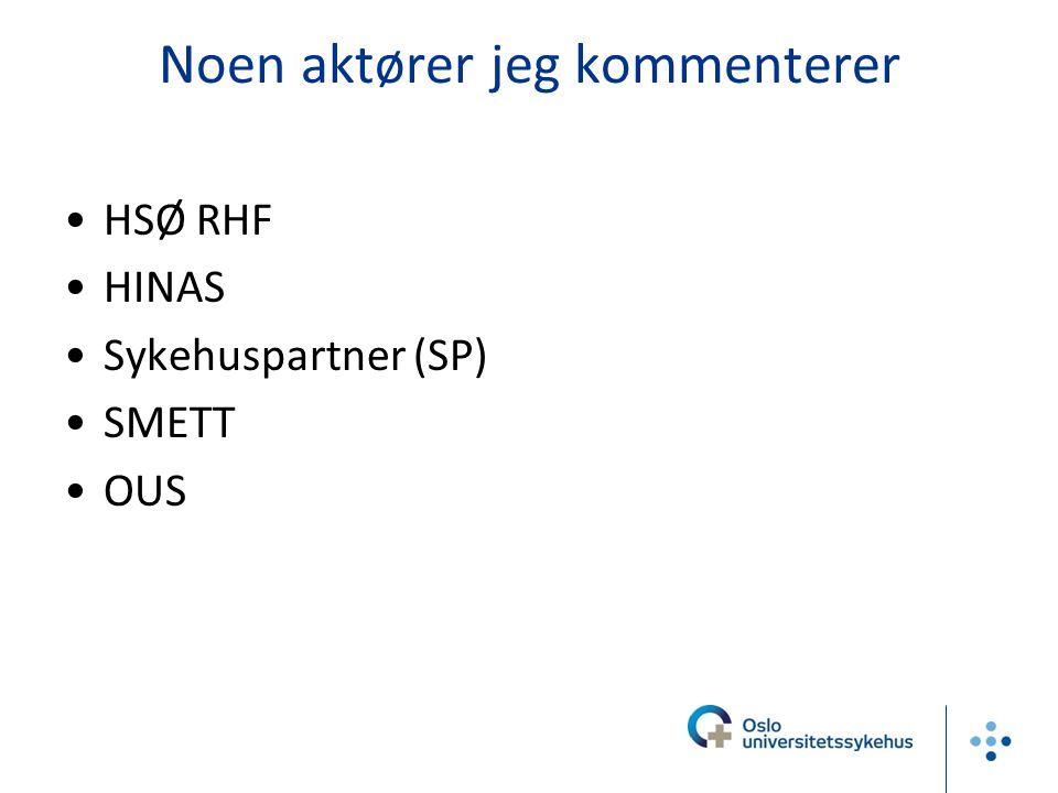 Medisinsk teknologisk virksomhetsområde, Oslo Sykehusservice Hovedtall MTU OUS Utstyr: 40.000 enheter MTU registrert Akkumulert anskaffelseskost 3 400 mill kr MTV: ~ 90 ansatte, 162 mill kr 1 av 2
