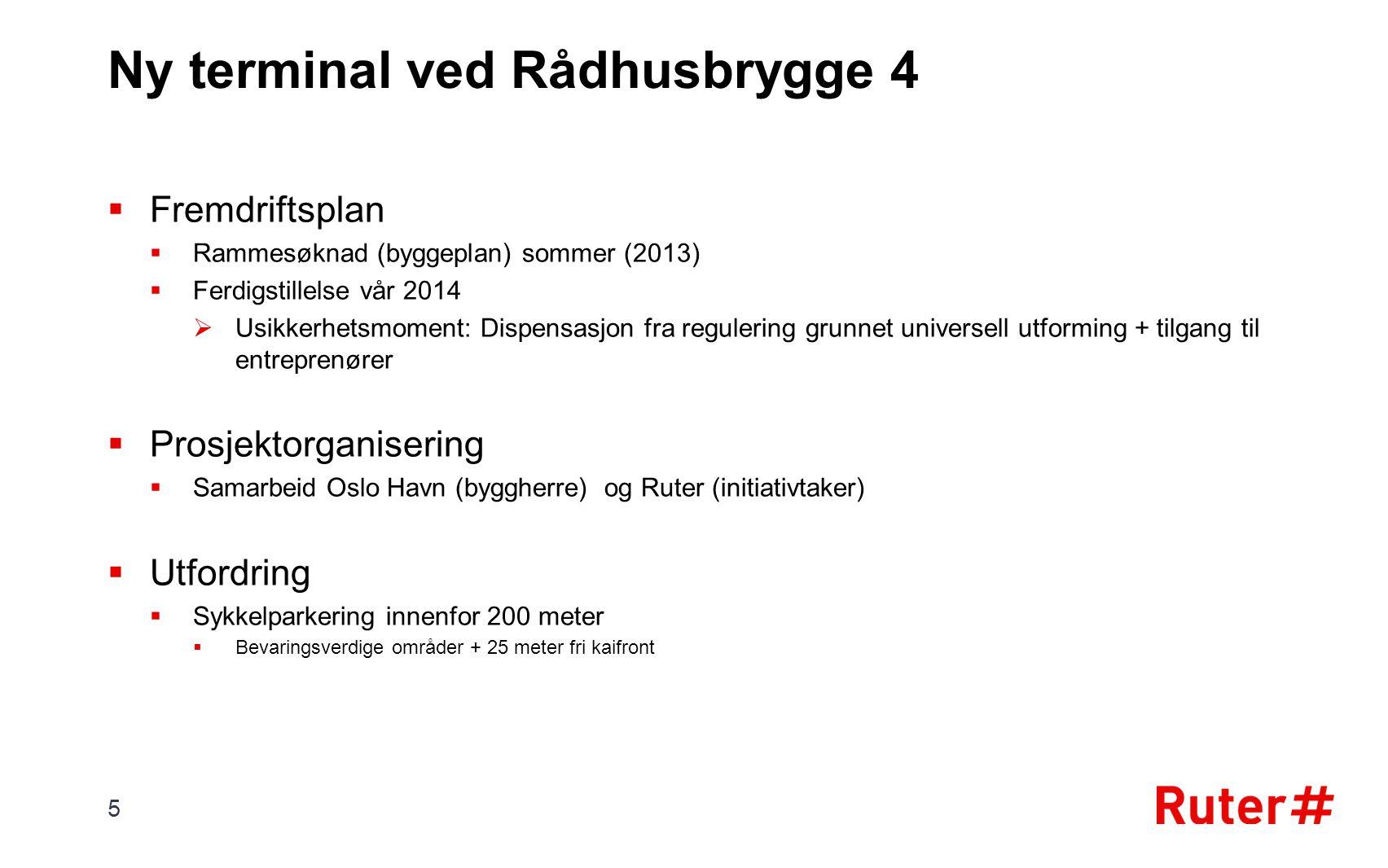  Fremdriftsplan  Rammesøknad (byggeplan) sommer (2013)  Ferdigstillelse vår 2014  Usikkerhetsmoment: Dispensasjon fra regulering grunnet universel