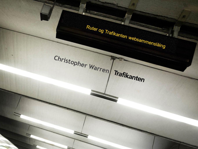 Ruter og Trafikanten websammenslåing Christopher Warren