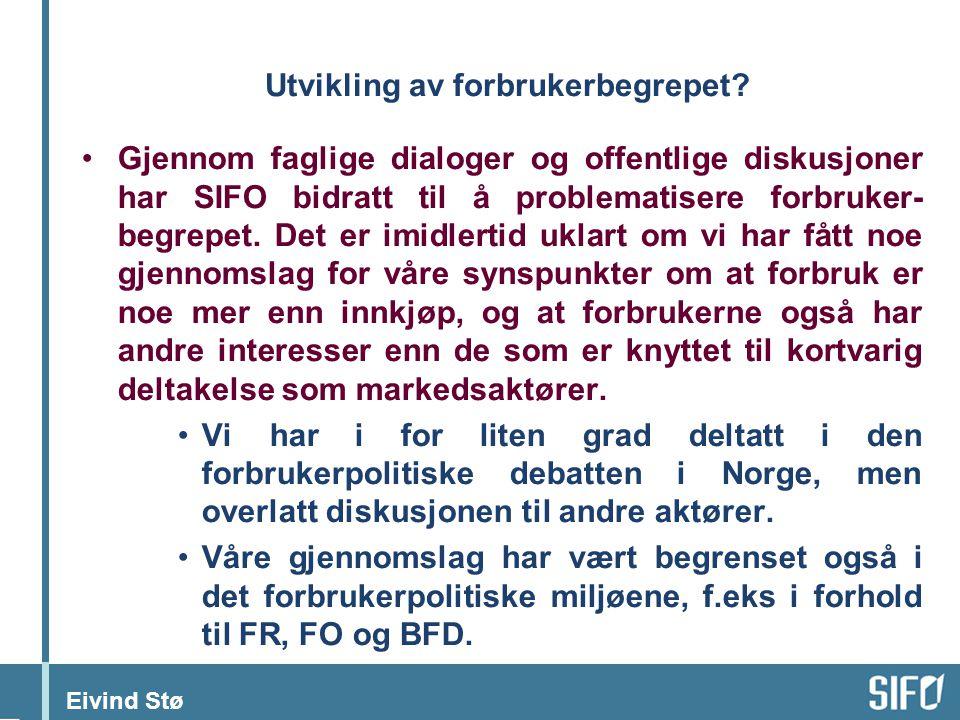 Eivind Stø Utvikling av forbrukerbegrepet.