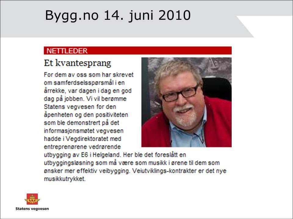 Bygg.no 14. juni 2010