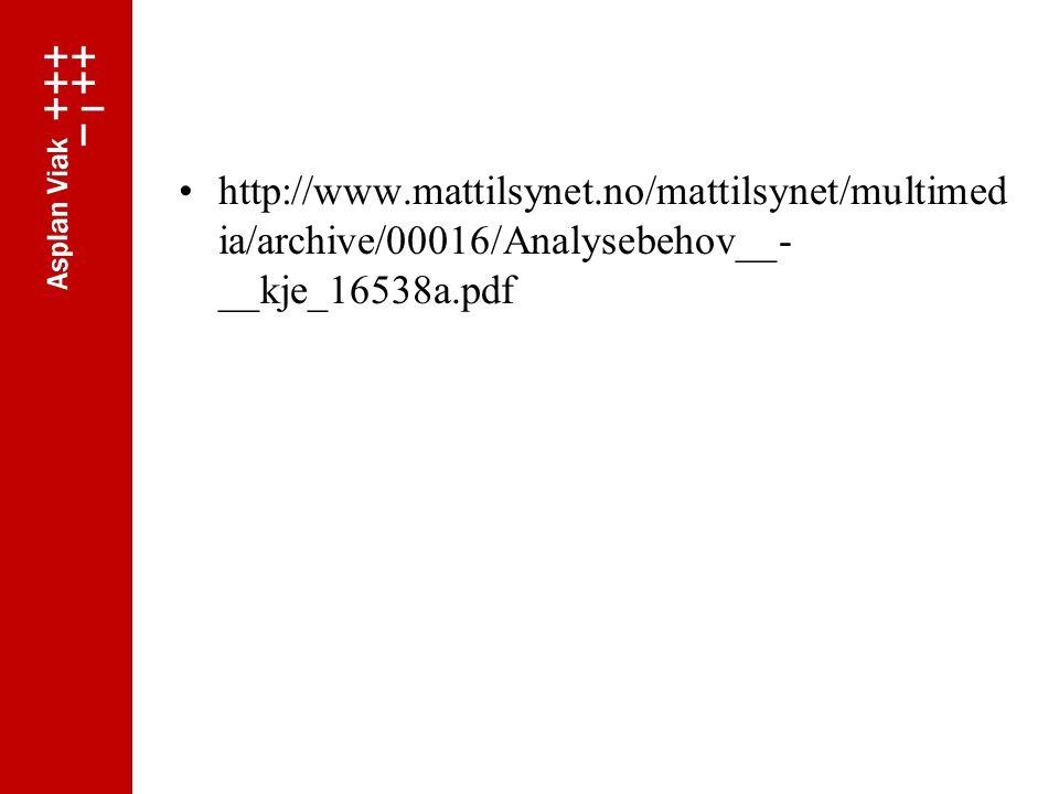 http://www.mattilsynet.no/mattilsynet/multimed ia/archive/00016/Analysebehov__- __kje_16538a.pdf