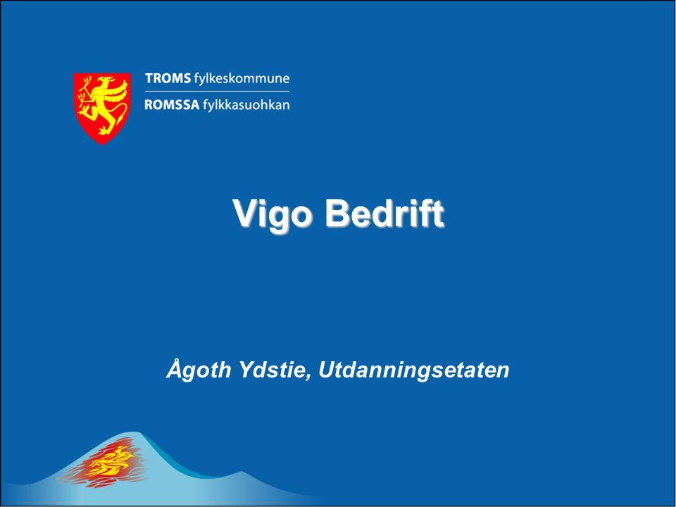 Vigo Bedrift Ågoth Ydstie, Utdanningsetaten