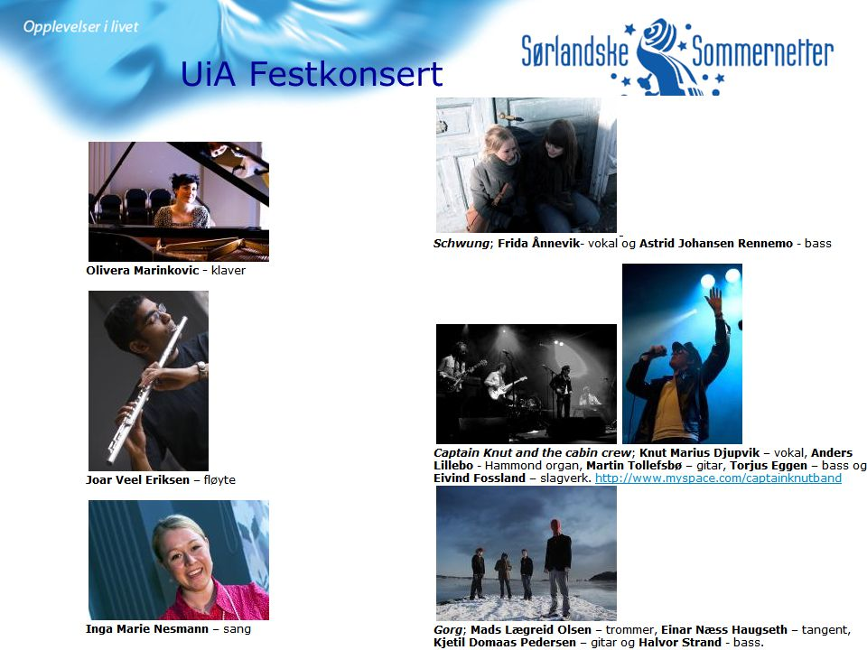 UiA Festkonsert