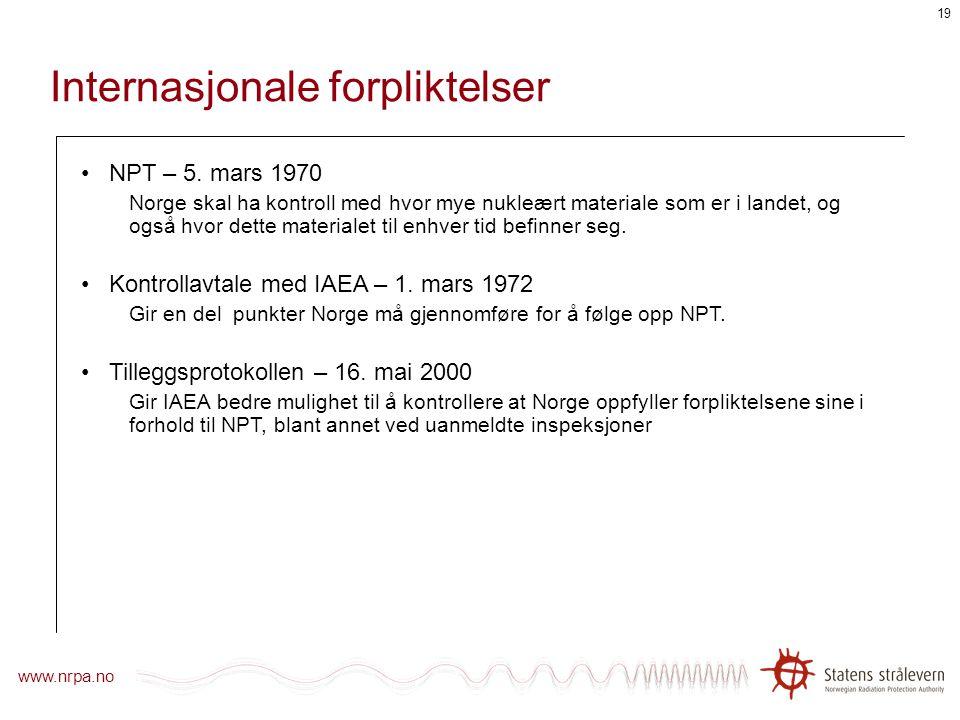 Stråleverntimen Kontroll med utarmet uran Tonje Sekse Forsker, Statens strålevern NDT-seminar, Haugesund, 3. juni 2008
